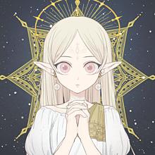 女神 プリ画像