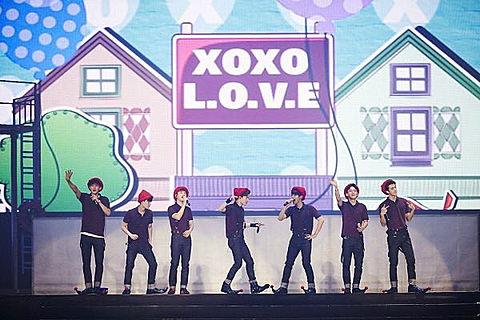 EXO'luxion終了!1年間お疲れ様!の画像(プリ画像)