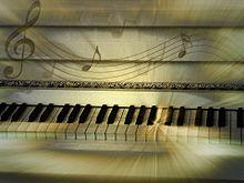 ピアノのメロディーの画像(プリ画像)