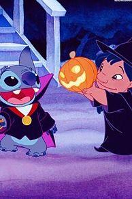 Halloweenの画像(スティッチ 壁紙に関連した画像)