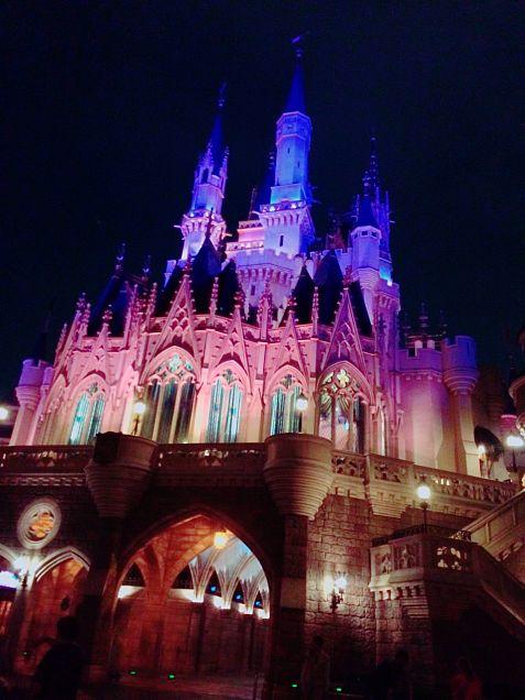 ディズニー 夜景の画像(プリ画像)