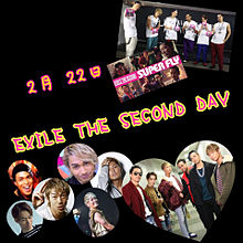 EXILE THE SECOND DAYの画像(プリ画像)