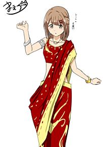 穂の民族衣装の画像(民族衣装に関連した画像)