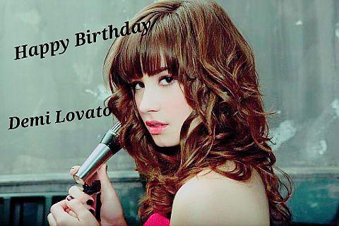Happy Birthday  Demi Lovatoの画像(プリ画像)