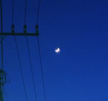 🌜💫🌛月の画像(月 夜空に関連した画像)