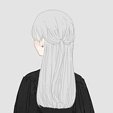 ダウナー女の子の画像(ロングヘアに関連した画像)
