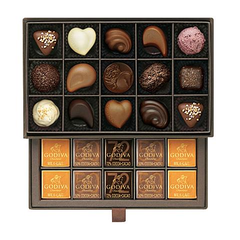 ゴディバのチョコレートの画像(プリ画像)