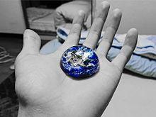 地球の画像(100均に関連した画像)