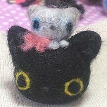 愛里手作り 羊毛フェルト作品の画像(ロッシーに関連した画像)