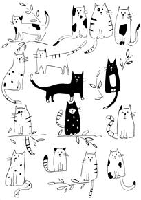 猫 背景の画像(可愛い背景に関連した画像)