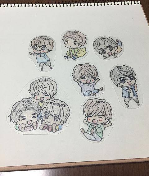 プラ板♡JUMP♡の画像(プリ画像)