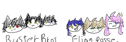 BusterBros!!!  FlingPosse!の画像(プリ画像)