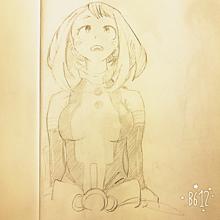 僕のヒーローアカデミア 麗日お茶子の画像(ヒロアカデクに関連した画像)