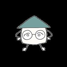 ホーム ノノベ ミドリ メガネ 背景透明の画像(背景透明に関連した画像)