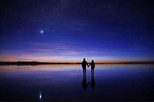 ウユニ塩湖 プリ画像
