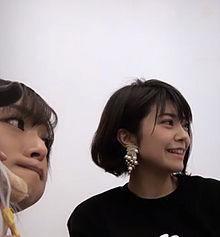 伊瀬茉莉也さん インスタライブよりの画像(富田美憂に関連した画像)