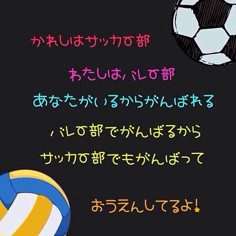 サッカー&バレー?の画像(プリ画像)