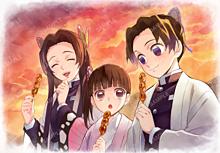 鬼滅の刃、蝶屋敷、神崎アオイ、胡蝶姉妹の画像(神崎アオイに関連した画像)