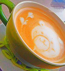 Cafeの画像(ラテアートに関連した画像)