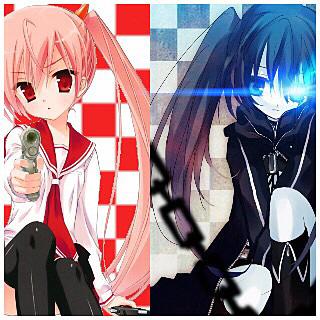 神崎・H・アリア(緋弾のアリア&黒衣マト(B★RSの画像 プリ画像