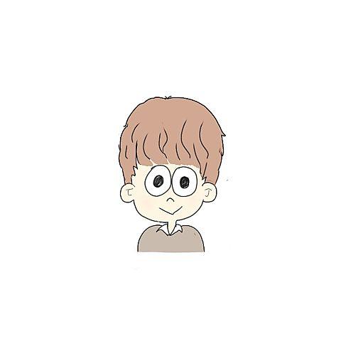 イラスト︎︎☁︎︎*.男の子の画像(プリ画像)