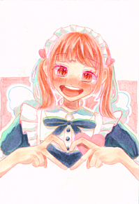 きゅん〜なメイドさんの画像(アナログに関連した画像)