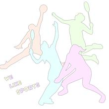 メニー スポーツの画像(手描き/イラスト/パステルに関連した画像)