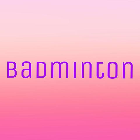 バドミントンの画像(プリ画像)