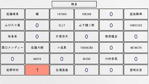 LDHメンバー   席選びの画像(プリ画像)
