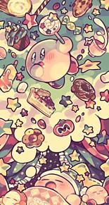 かわいい背景☆星のカービィの画像(カービィ 背景に関連した画像)