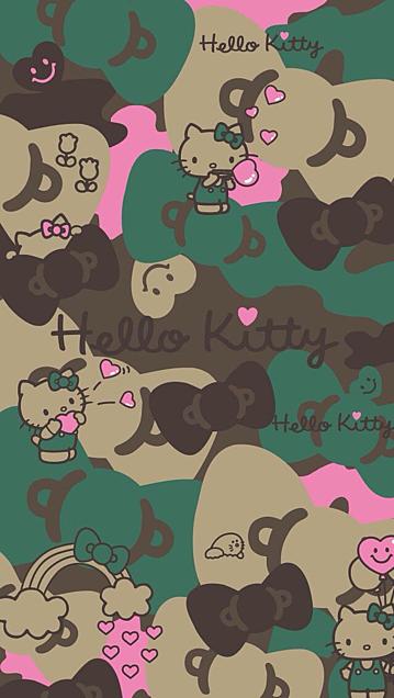 ハローキティ♥背景の画像(プリ画像)