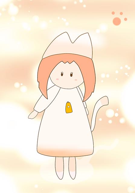 「迷い猫の旅」の女の子の画像(プリ画像)