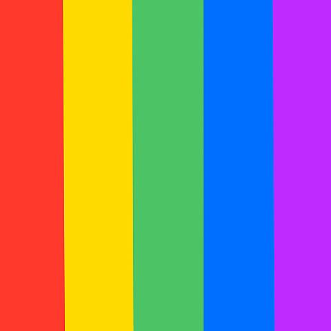 5色の画像 プリ画像