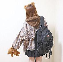 🐰💗の画像(女の子 後ろ姿に関連した画像)