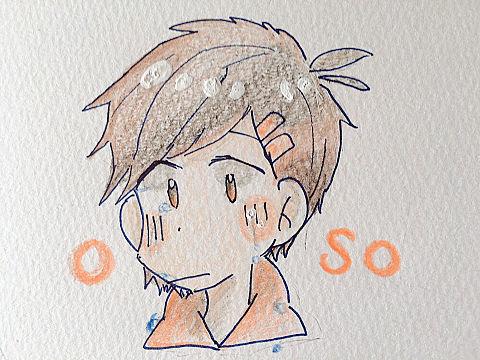 泣き顔おそ兄の画像(プリ画像)