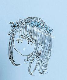 フリーアイコンの画像(可愛い女の子 イラストに関連した画像)