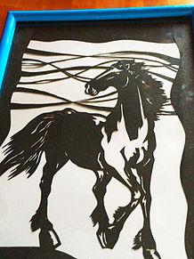 切り絵馬の画像(プリ画像)