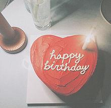 誕生日 ハッピーバースデー ケーキ プリ画像