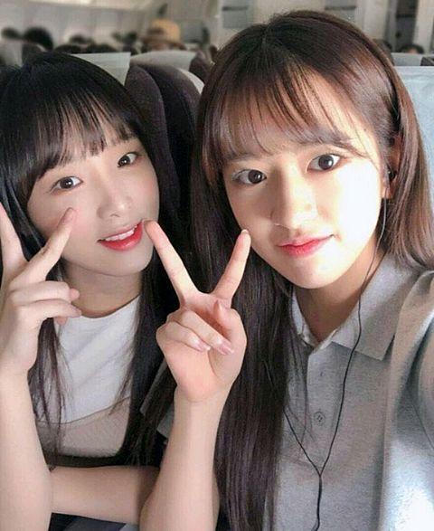 IZ*ONE     チェイエナ&アンユジンの画像(プリ画像)