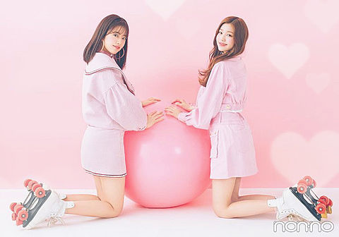 IZ*ONE      アンユジン&チャンウォニョンの画像 プリ画像