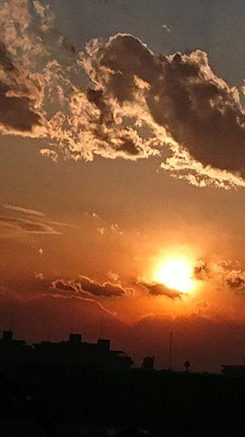 夕陽の画像(プリ画像)