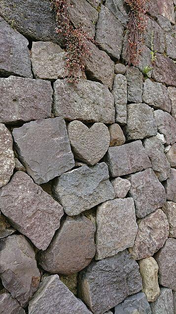 ハート型の石の画像(プリ画像)