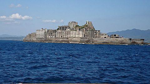 軍艦島の画像(プリ画像)