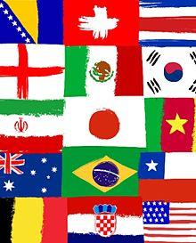 背景 国旗の画像(プリ画像)