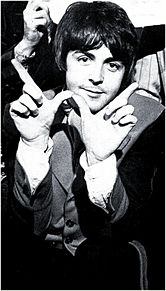 ポールの画像(BEATLESに関連した画像)