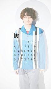伊野尾慧 カレンダー 7月の画像(Hey!Say!7に関連した画像)