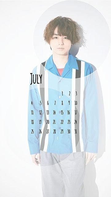 伊野尾慧 カレンダー 7月の画像 プリ画像