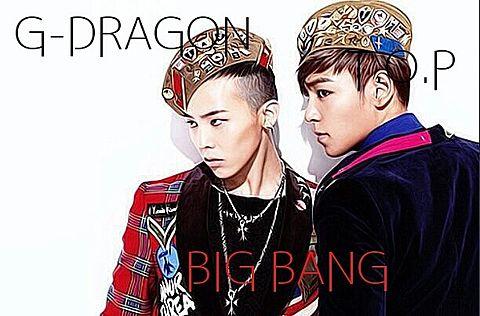 G-DRAGON&T.O.Pの画像(プリ画像)