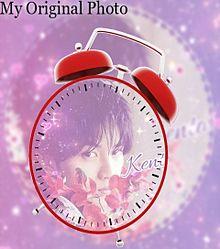 中島健人で目覚まし時計加工してみた(*´ω`*)の画像(時計に関連した画像)