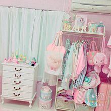 ♡♡: お部屋 _.。の画像(お洋服に関連した画像)